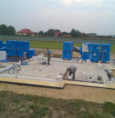 Nadziemie - roboty murowe i betonowe