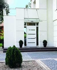 Drzwi zewnętrzne z naświetlami