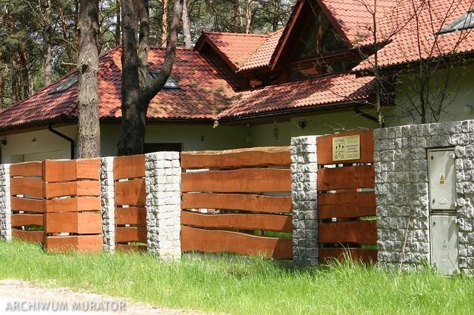 Ogrodzenia drewniane - kosteczki i deseczki