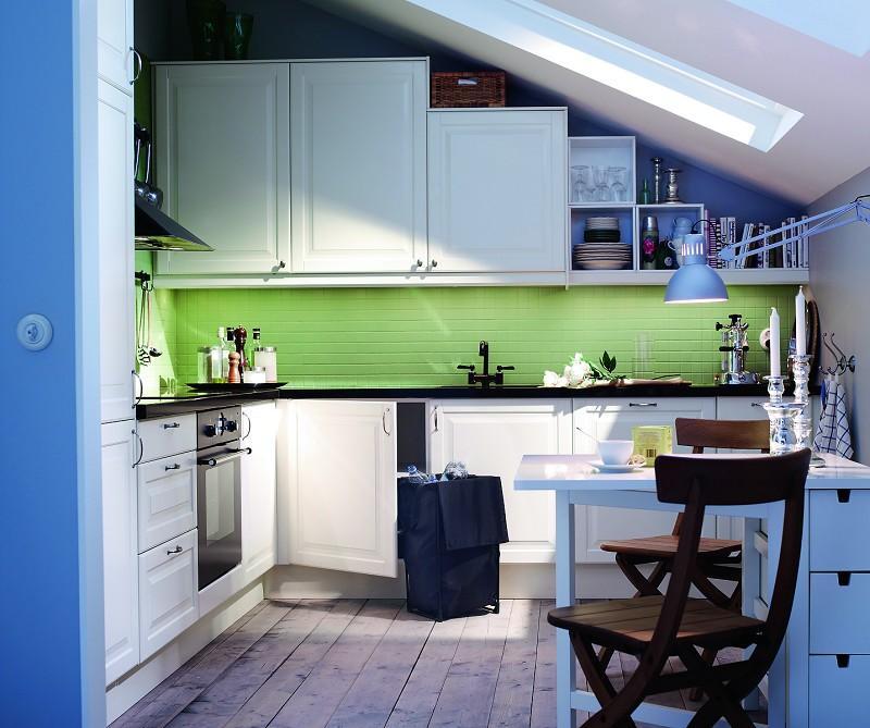 Galeria zdjęć  Aranżacja kuchni na poddaszu Galeria   -> Kuchnia Na Poddaszu Pod Skosem