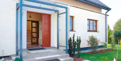 Jak zbudować zadaszenie nad drzwiami wejściowymi?