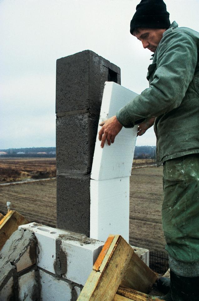 Ocieplenie komina