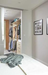 Garderoba przy sypialni