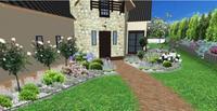 Projekt przydomowego ogrodu