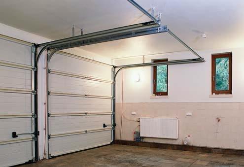 Nadproże w garażu