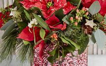 Piękne dekoracje bożonarodzeniowe z gwiazdy betlejemskiej [INSPIRACJE]