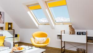 Energooszczędne produkty do poddaszy - okna dachowe, schody, wyłazy