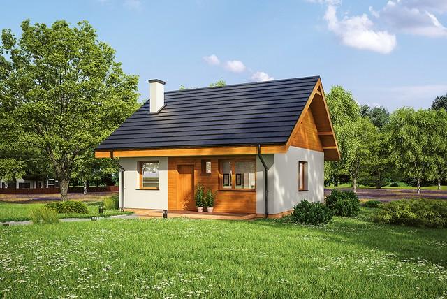 5 projektów domów z poddaszem do adaptacji