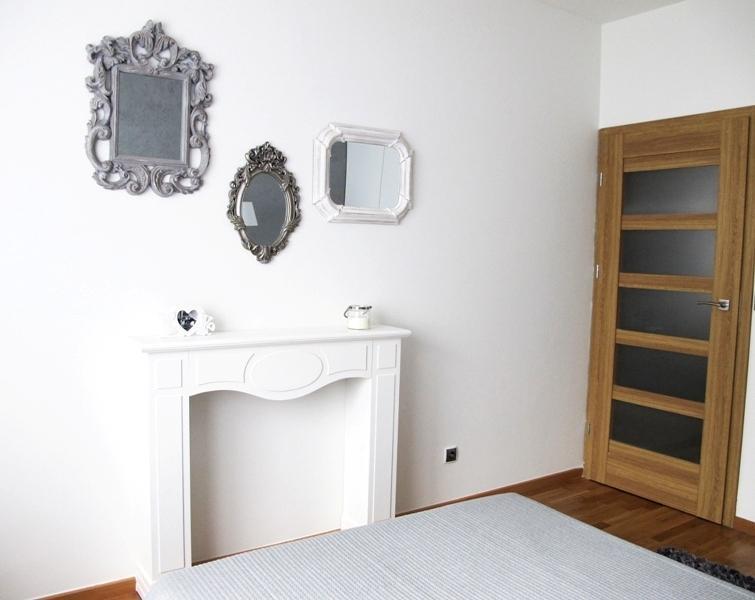 Galeria zdjęć - Pomysł na aranżację sypialni. Nowoczesne, romantyczne wnętrze w kolorach bieli i ...